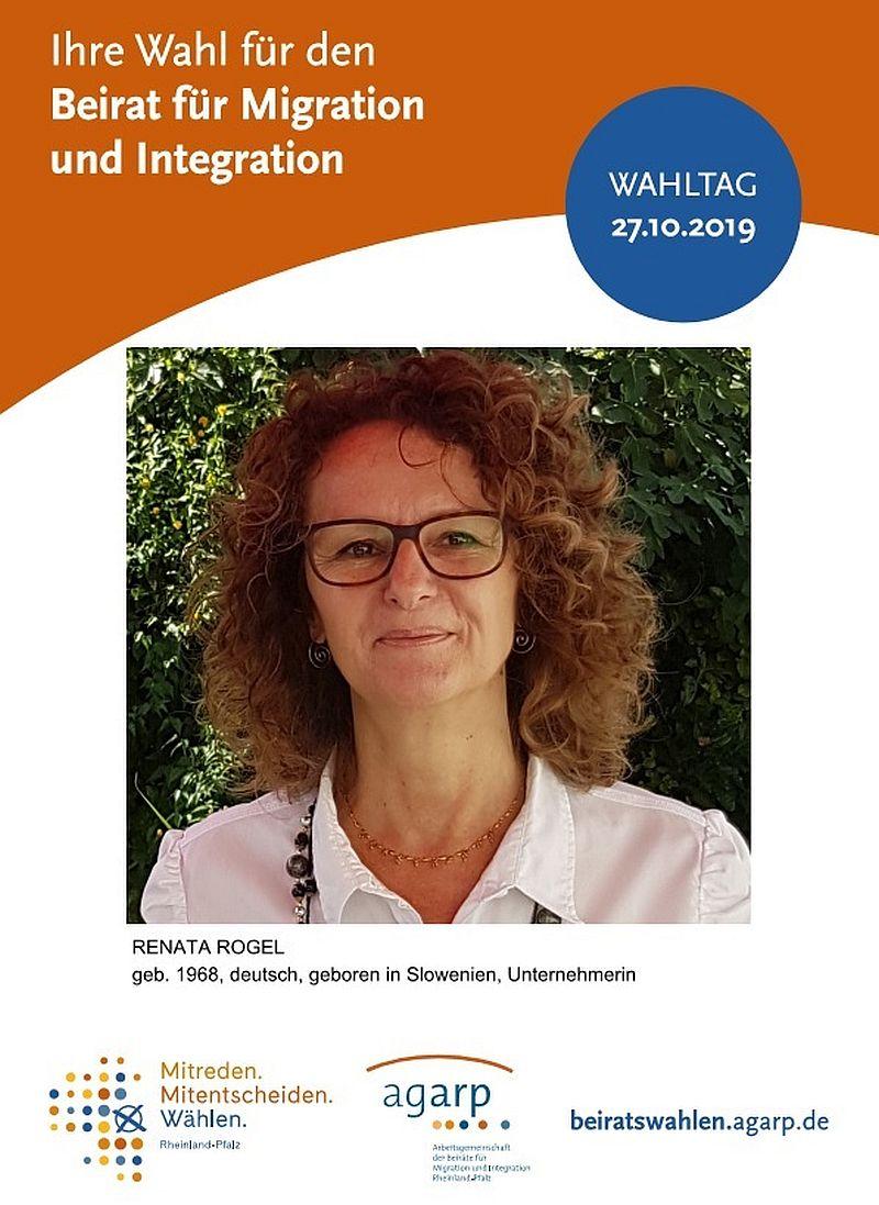 Wahl zum Beirat für Migration und Integration – Renata Rogel stellt sich vor