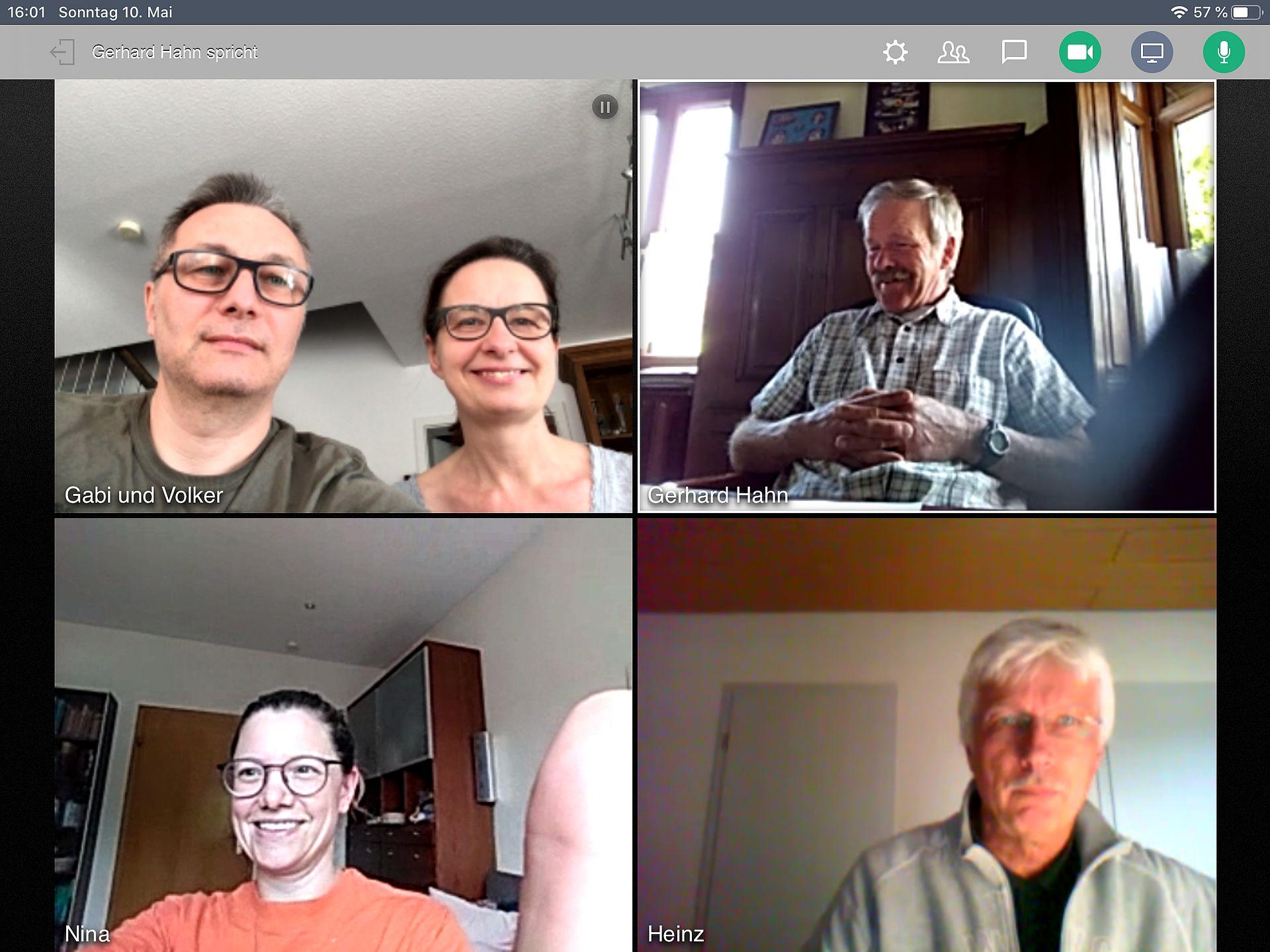Sitzung digital – bei uns geht's online weiter
